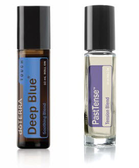 doTERRA Deep Blue és Past Tense
