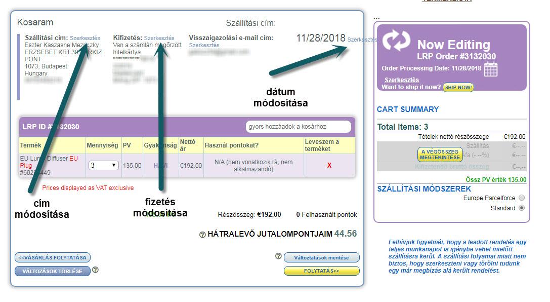 LRP - Hűségprogram